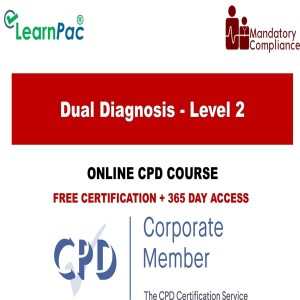 Dual Diagnosis - Level 2 - Mandatory Training Group UK -