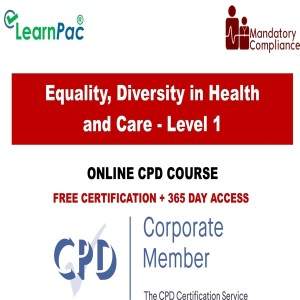 Equality, Diversity in Health - Mandatory Training Group UK -