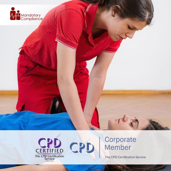First Aid, CPR and AED – Online Training Course – CPDUK Accredited – Mandatory Compliance UK –