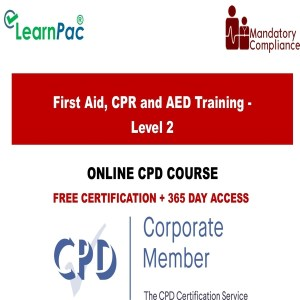 First Aid, CPR and AED Training - Level 2 - Mandatory Training Group UK -