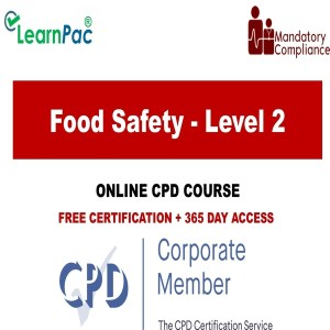 Food Safety - Level 2 - The Mandatory Training Group UK -