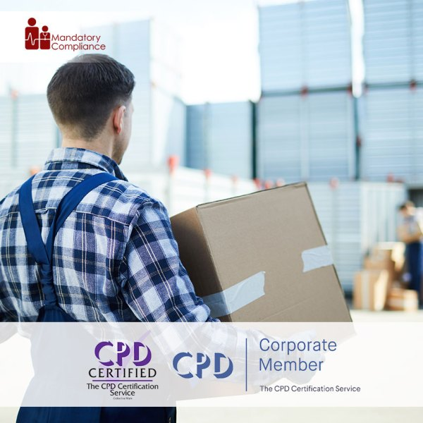 Manual Handling of Objects – Level 2 – Online Training Course – CPDUK Accredited – Mandatory Compliance UK –