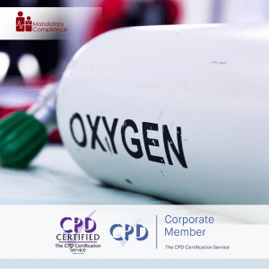 Medical Gas Supplies in Health and Care - Online Training Course - CPD Accredited - Mandatory Compliance UK -