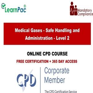 Medical Gases - Safe Handling and Administration - Level 2 - Mandatory Training Group UK -