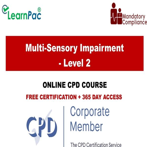 Multi-Sensory Impairment – Level 2 – Mandatory Training Group UK –