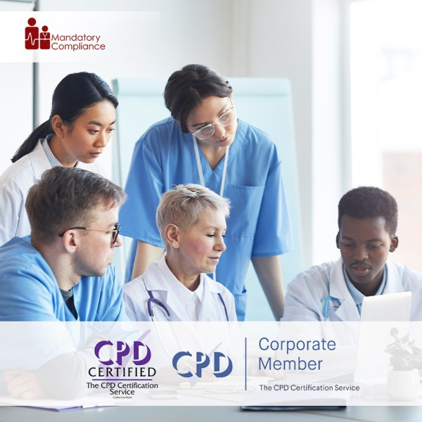 Online Health and Social Care Mandatory Training – Online Training Course – CPD Accredited – Mandatory Compliance UK –