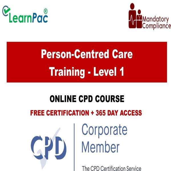 Person-Centred Care Training – Level 1 – The Mandatory Training Group UK –