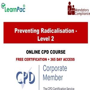 Preventing Radicalisation - Level 2 - Mandatory Training Group UK -