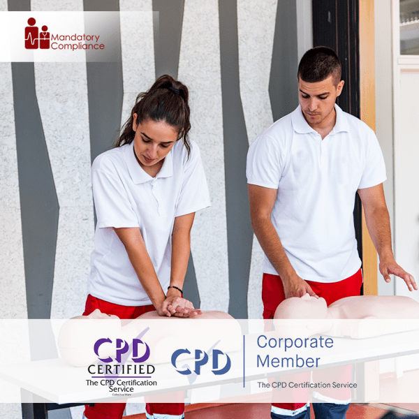 Resuscitation Immediate Life Support – Online Training Course – CPD Accredited – Mandatory Compliance UK –