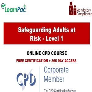 Safeguarding Adults at Risk - Level 1 - The Mandatory Training Group UK -