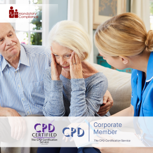 Understanding Dementia Training - Online Training Course - CPD Accredited - Mandatory Compliance UK -