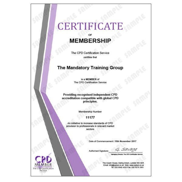 Adult Learning – Physical Skills Training – E-Learning Course – CDPUK Accredited – Mandatory Compliance UK –
