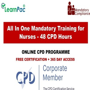 All In One Mandatory Training for Nurses - 48 Online CPD Hours - Mandatory Training Group UK -