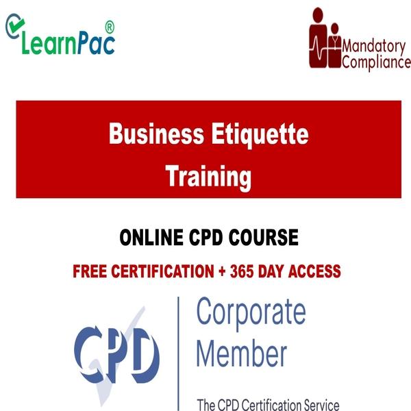 Business Etiquette Training – Mandatory Training Group UK –