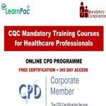 CQC Mandatory Training Courses for Healthcare Professionals - Mandatory Training Group UK -