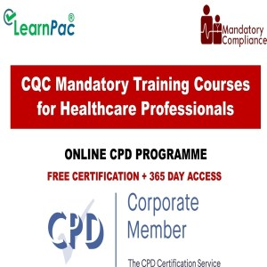 CQC Mandatory Training Courses for Healthcare Professionals - Mandatory Training Group UK -