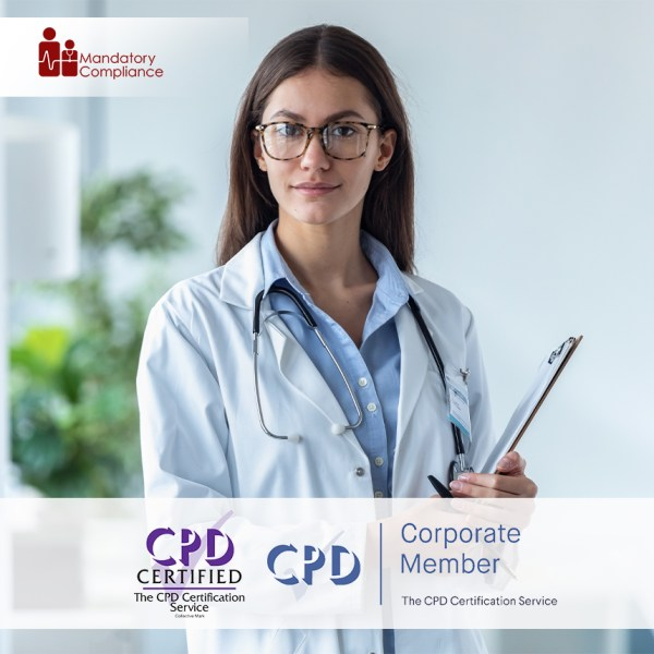 CQC Mandatory Training Courses for Healthcare Professionals – Online Training Course – CPD Accredited – Mandatory Compliance UK –