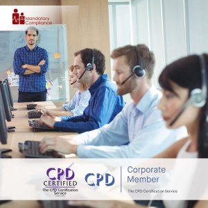 Call Center - Online Training Course - CPDUK Accredited - Mandatory Compliance UK -