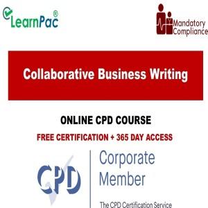 Collaborative Business Writing - Mandatory Training Group UK -