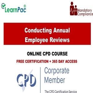 Conducting Annual Employee Reviews - Mandatory Training Group UK -