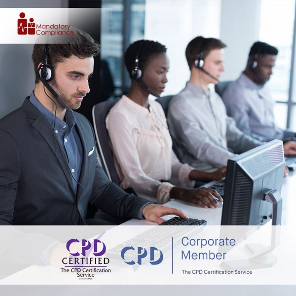 Customer Service – Online Training Course – CPDUK Accredited – Mandatory Compliance UK –