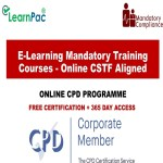 E-Learning Mandatory Training Courses – Online CSTF Aligned – Mandatory Training Group UK –