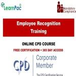 Employee Recognition Training – Mandatory Training Group UK –