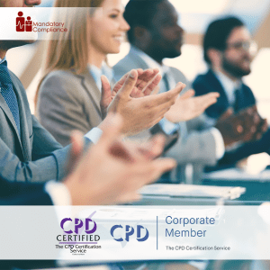 Employee Recognition Training - Online Training Course - CPD Accredited - Mandatory Compliance UK -