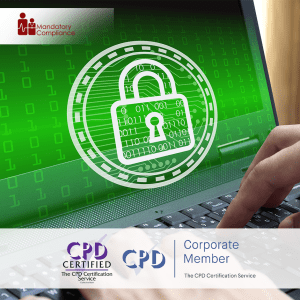 GDPR for Health and Social Care - Online Training Course - CPD Accredited - Mandatory Compliance UK -