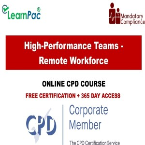 High-Performance Teams - Remote Workforce - Mandatory Training Group UK -
