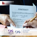 Contract Management – Online Training Course – CPDUK Accredited – Mandatory Compliance UK –