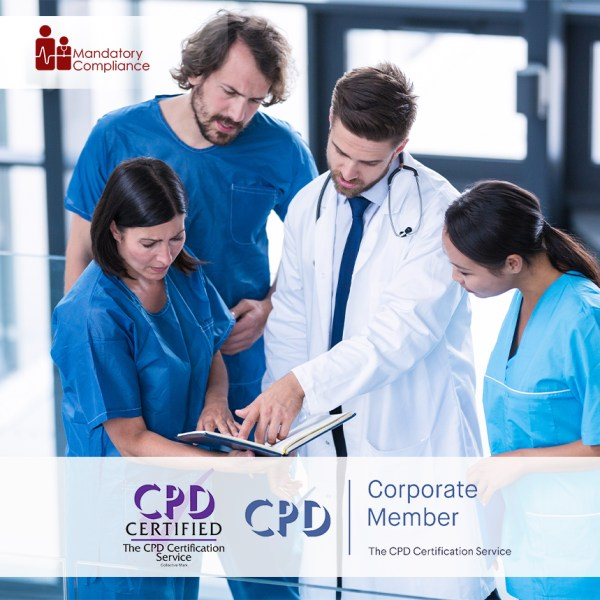 Mandatory Training Courses for Nurses and NHS Health Care Staff – E-Learning Courses – CDPUK Accredited – Mandatory Compliance UK –