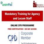 Mandatory Training for Agency and Locum Staff - Mandatory Training Group UK -
