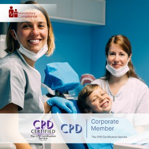 Mandatory Training for Dental Nurses - Online Training Course - CPD Accredited - Mandatory Compliance UK -