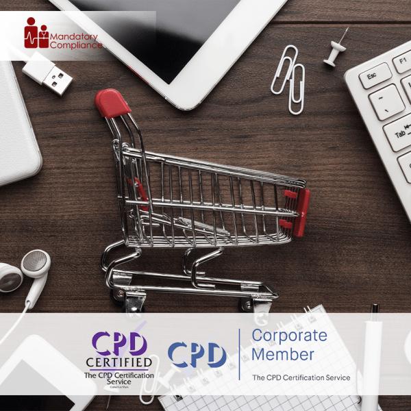 Marketing Basics Training – Online Training Course – CPD Accredited – Mandatory Compliance UK –