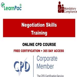Negotiation Skills Training - Mandatory Training Group UK -