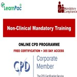 Non-Clinical Mandatory Training Courses - CPD Accredited Courses - Mandatory Training Group UK -