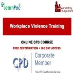 Workplace Violence Training -Mandatory Training Group UK -