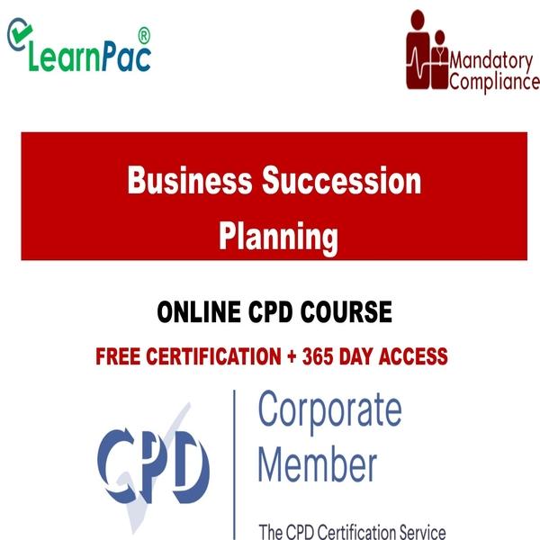 Business Succession Planning – Mandatory Training Group UK –