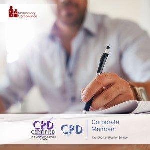 Business Writing - Online Training Course - CPDUK Accredited - Mandatory Compliance UK -