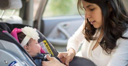 Carrying baby car seats could injure new mums - MTG UK -