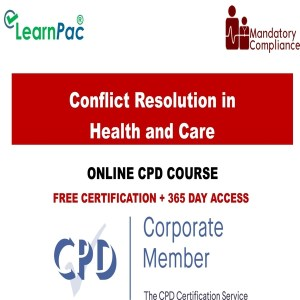 Conflict Resolution in Health and Care - Mandatory Training Group UK -