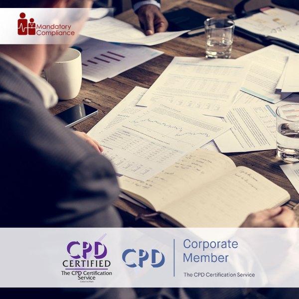 Crisis Management – Online Training Course – CPDUK Accredited – Mandatory Compliance UK –