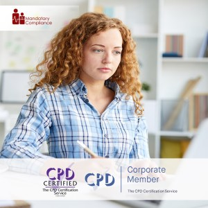 Online Candidate Mandatory Training - Online Training Course - CPD Accredited - Mandatory Compliance UK -