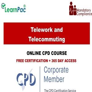 Telework and Telecommuting - Mandatory Training Group UK -