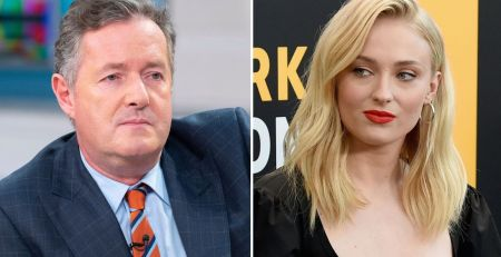 Game Of Thrones star Sophie Turner hits out at Piers Morgan over mental health tweet - MTG UK -