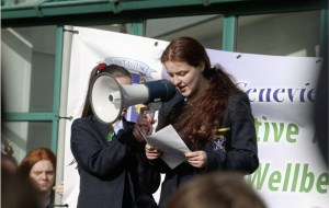 Pupils march for mental health awareness - The Mandatory Training Group UK -