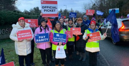 Nurses go on strike across Northern Ireland - MTG UK -