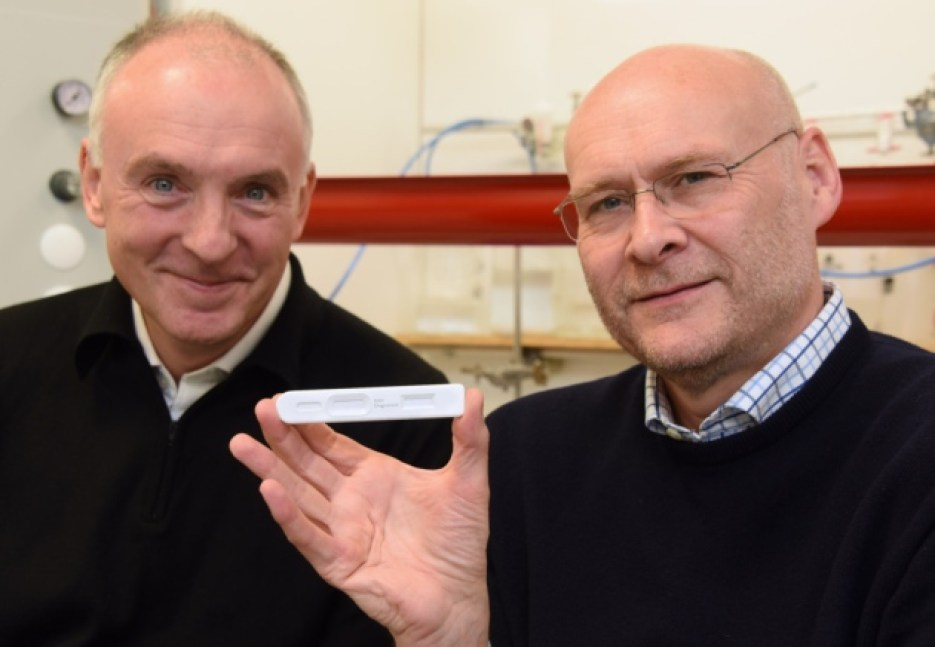 The clever 'pregnancy test'-style kit slated to change diagnostics for the better - MTG UK -