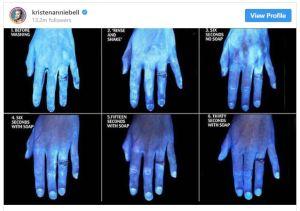 CORONAVIRUS - BLACK LIGHT PHOTOS SHOW IMPORTANCE OF WASHING HANDS AMID OUTBREAK - The Mandatory Training Group UK